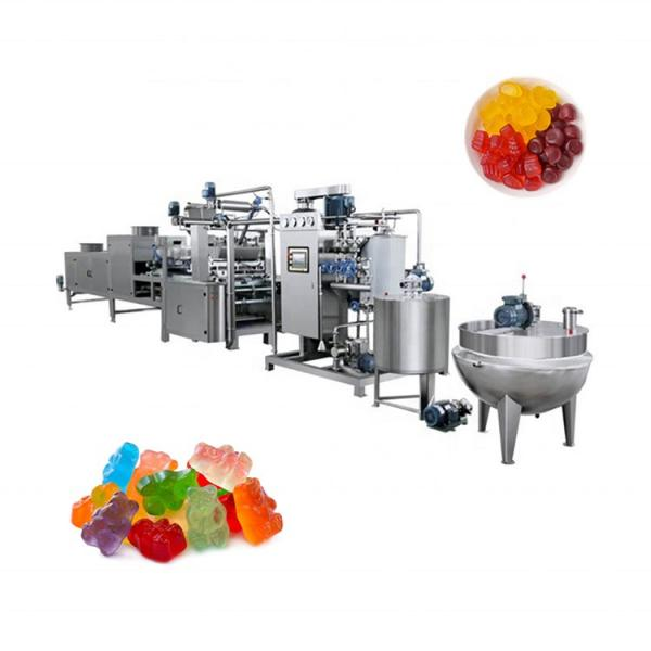 CBD VITAMIN soft jelly candy depositing forming machine gummy bear multi-functional different shaped gummy candy maker
