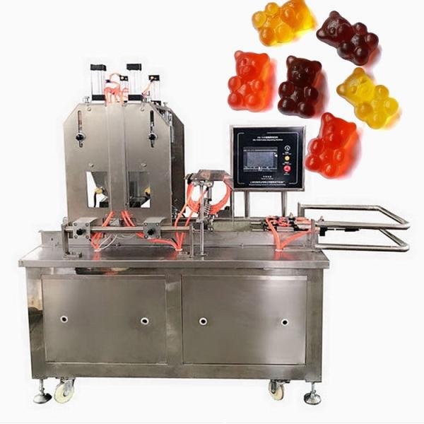 Commercial Candy Making Equipment CLM80Q small gummy bear snack machines soft candy sugar fully automated production line