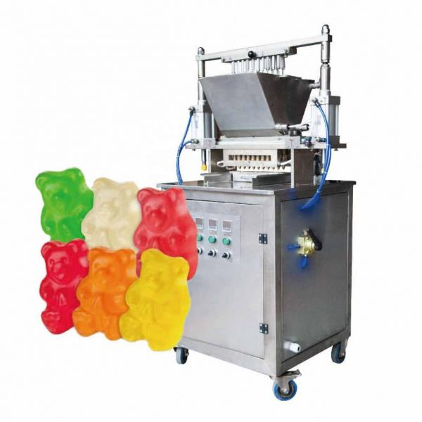 20kg/hour Small Candy Maker Depositing Making Machine Molding Machine Starch-less Gummy Candy Production Line Processing Line